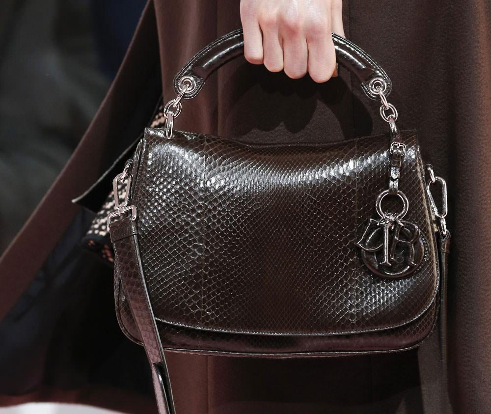 Dior Continues Its Solid Handbags Streak For Fall 2015