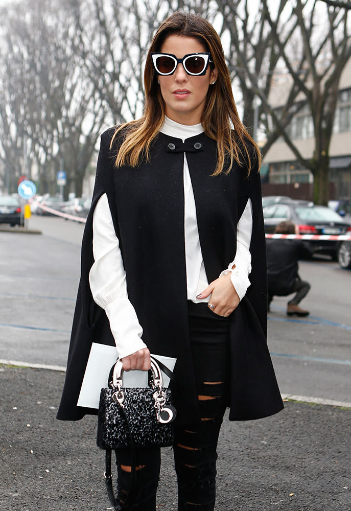 The Many Bags Of Milan Fashion Week Fall 2015 39 S Celebrity Attendees Purseblog