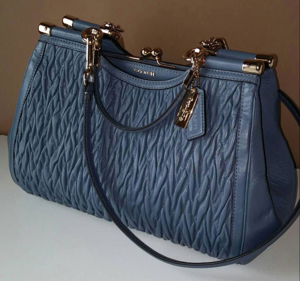 Coach-Quilted-Bag