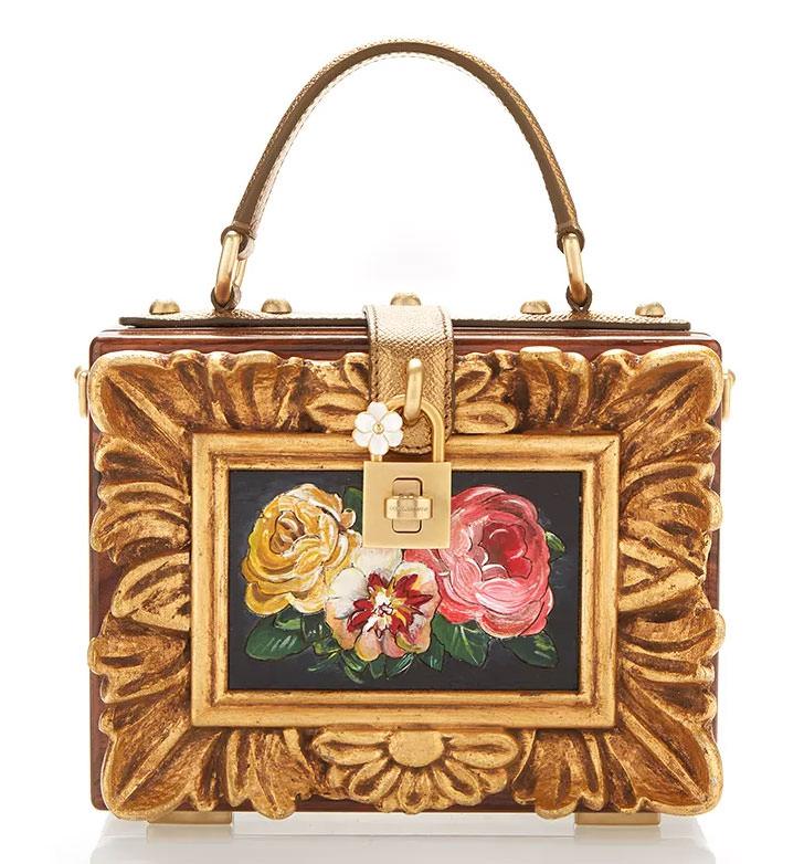 Dolce-&-Gabbana-Wood-Framework-Dolce-Bag