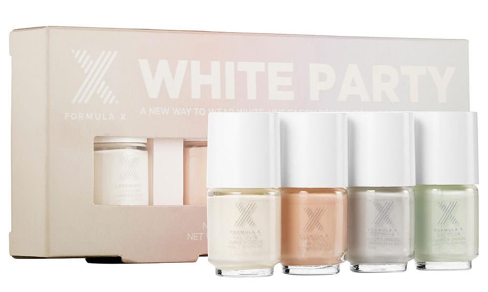 Formula-X-White-Party-Nail-Polish-Set