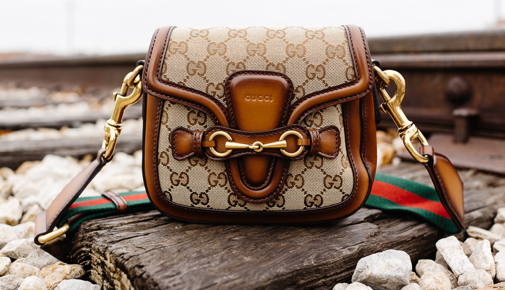 Gucci Lady Web Original GG Canvas Shoulder Bag - $1,650
