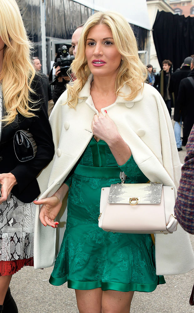 The Many Bags of Milan Fashion Week Fall 2015 s Celebrity Attendees ... 7d5b95f27d