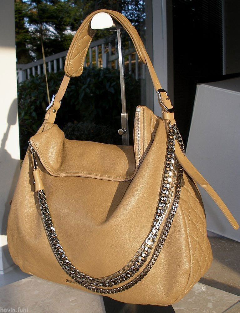 Jimmy Choo Blake Biker Hobo Bag