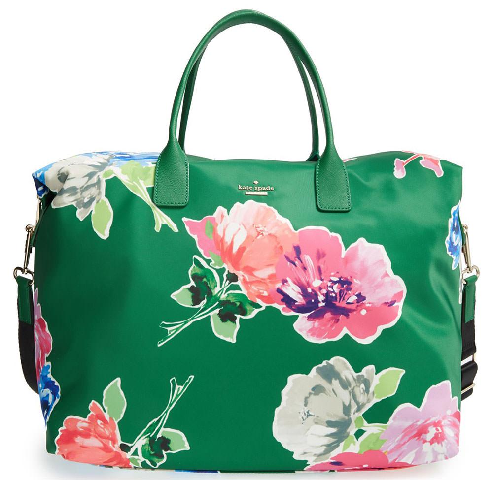 Kate Spade Classic Nylon Lyla Floral Tote