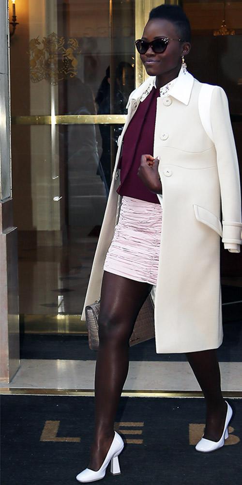 Lupita Nyong'o in Paris