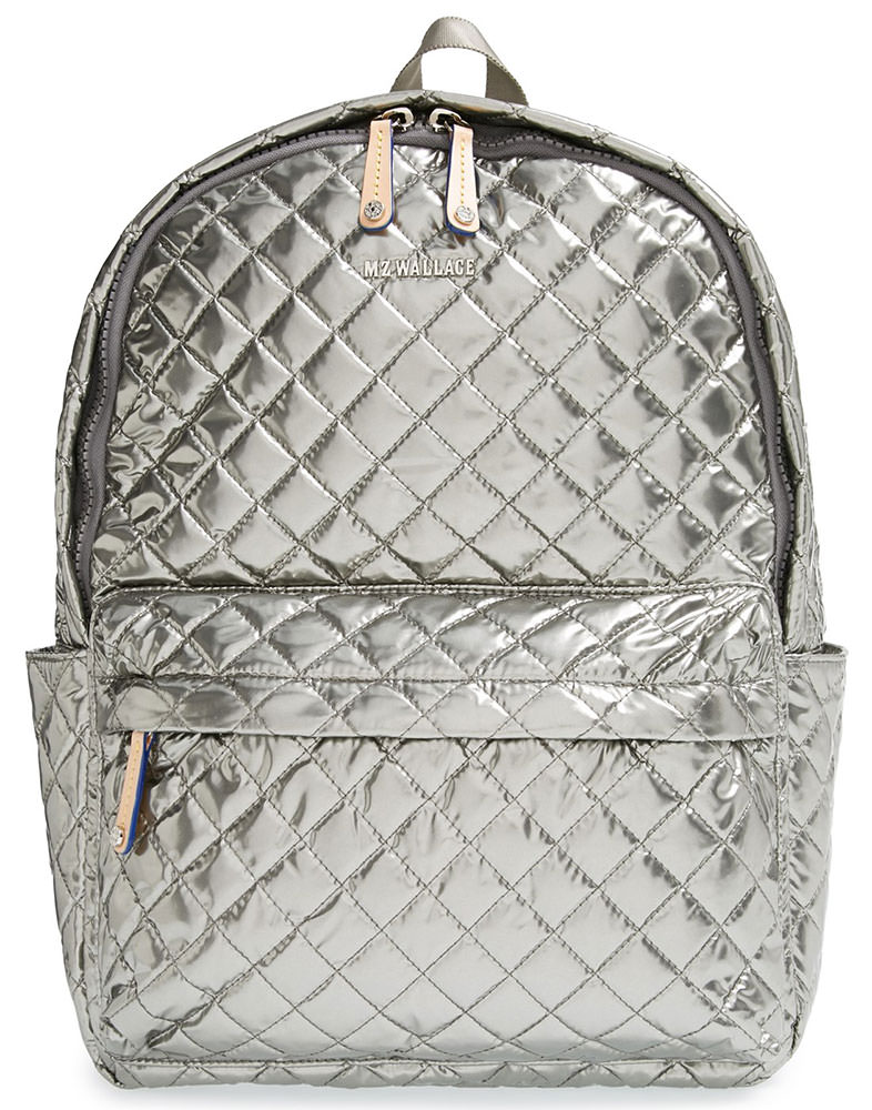 MZ-Wallace-Oxford-Quilted-Metallic-Backpack
