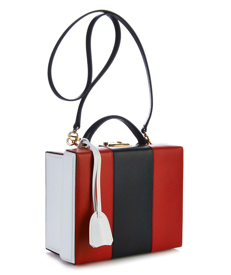 Mark Cross Grace Tricolor Box Bag