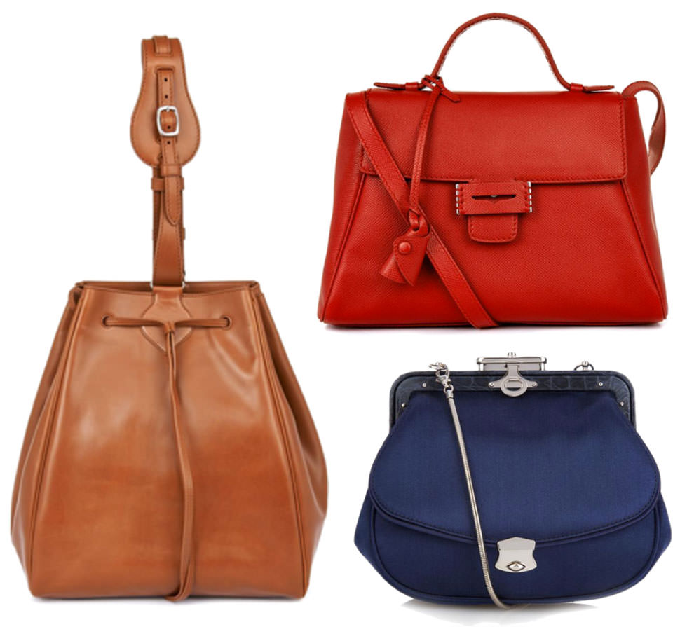 Dino Bucket Bag, $4,886 via MATCHESFASHION.COM Mini Byron Crossbody Bag, $4,218 via MATCHESFASHION.COM James Satin and Croc Crossbody Bag, $3,491 via MATCHESFASHION.COM