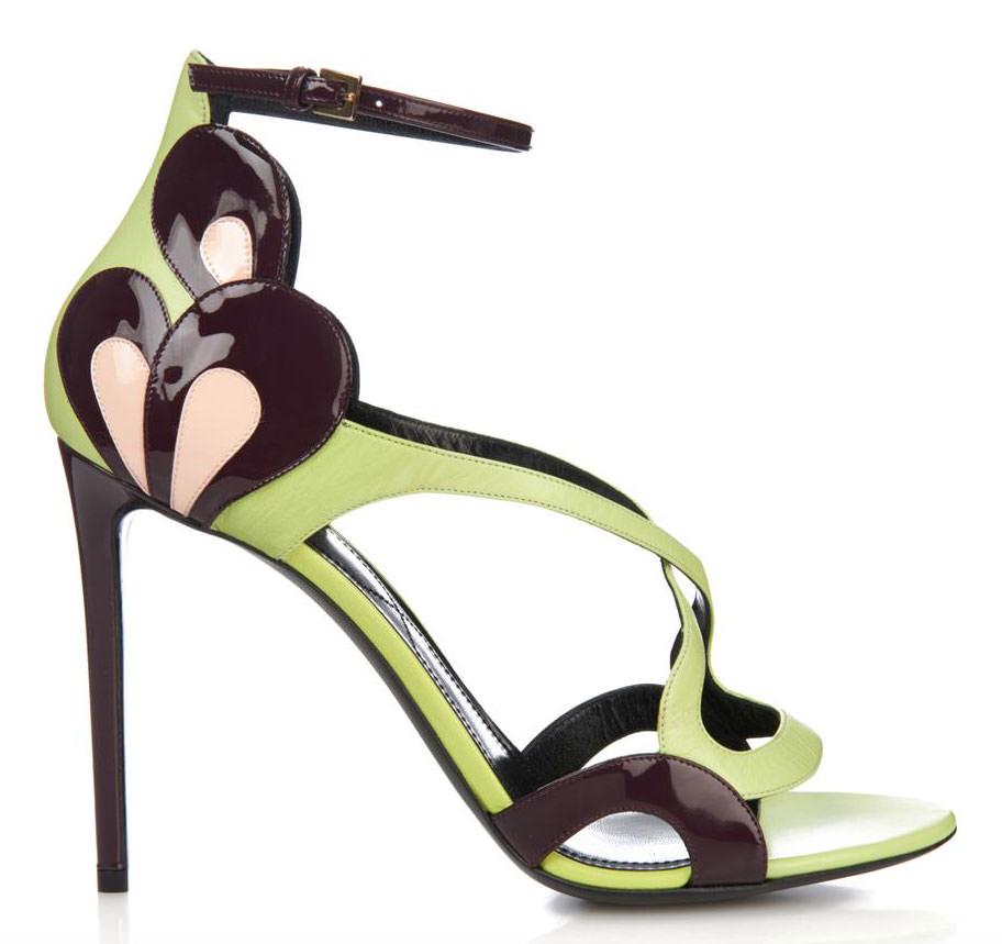 Nicholas-Kirkwood-Patent-Petal-Sandals