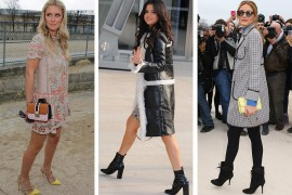 The Many Shoes of Celebrity Attendees from Paris Fashion Week Fall 2015