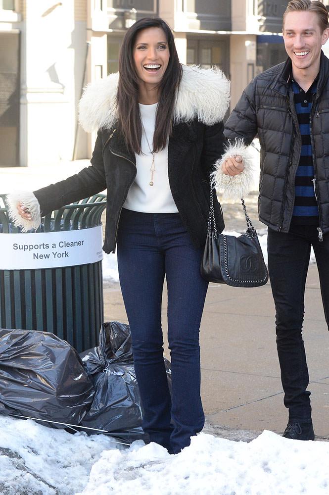 Padma-Lakshmi-Chanel-Modern-Chain-Flap-Bag