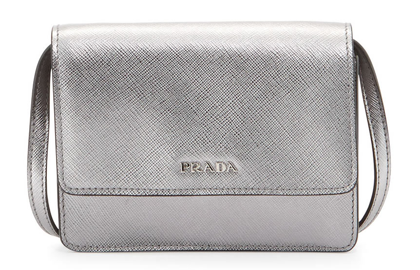 Prada Saffiano Mini Crossbody Bag