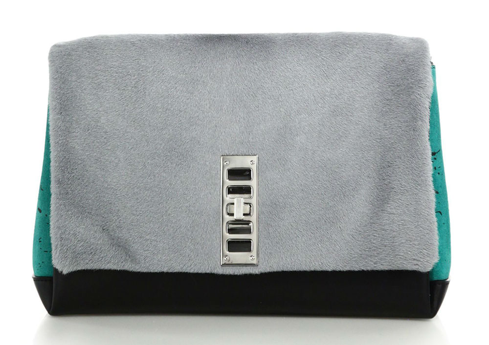 Proenza-Schouler-Elliot-Calf-Hair-Clutch