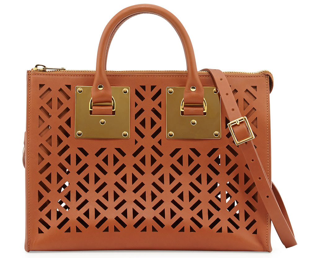Sophie Hulme Holmes Cutout Leather Bag