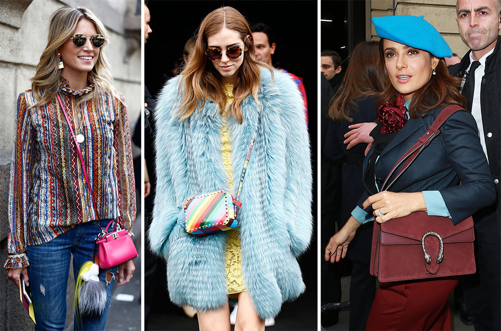 356db33c55 The Many Bags of Milan Fashion Week Fall 2015 s Celebrity Attendees ...