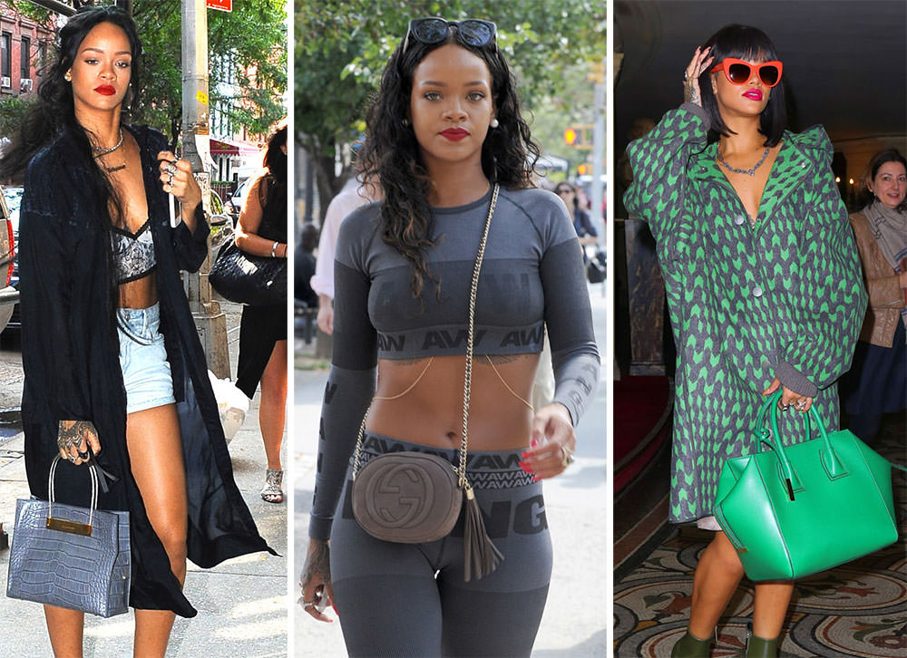 51368d251a1 The Many Bags of Rihanna
