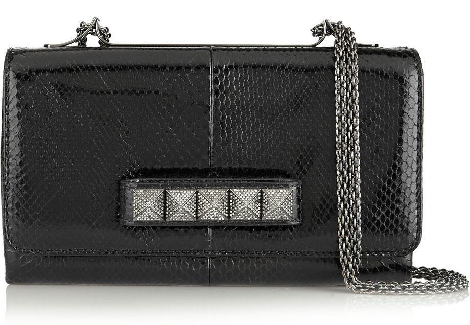 Valentino-Rockstud-Noir-VaVaVoom-Python-Shoulder-Bag