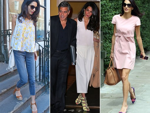 The Many Shoes of Amal Clooney