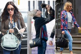 Celebs Carry Handbags While Hanging Out with Their Moms, Their Dogs, & Bradley Cooper