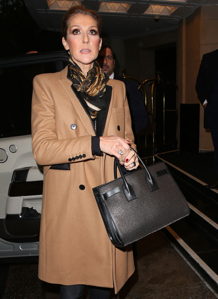 Celine-Dion-Saint-Laurent-Small-Studded-Sac-de-Jour