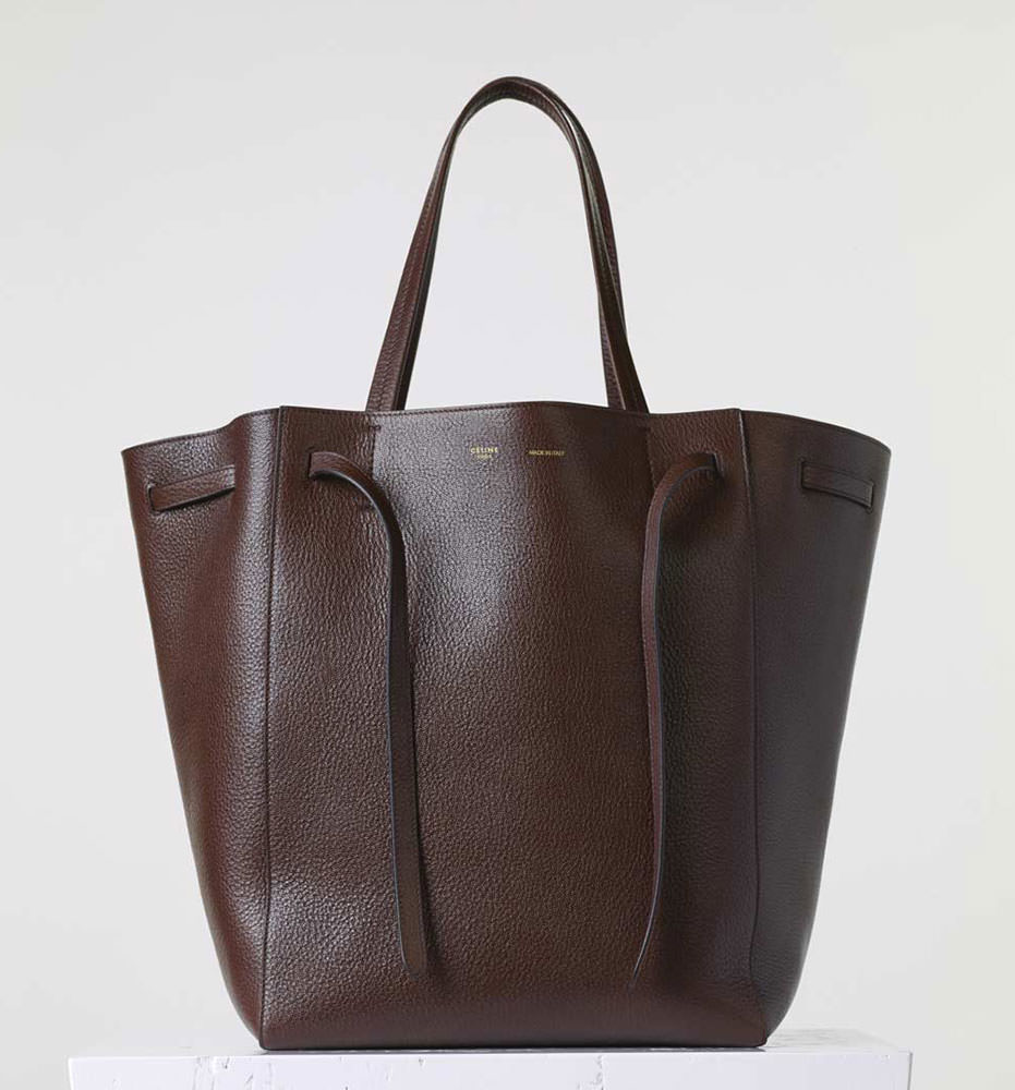 Celine-Medium-Cabas-Phantom-Tote-Brown