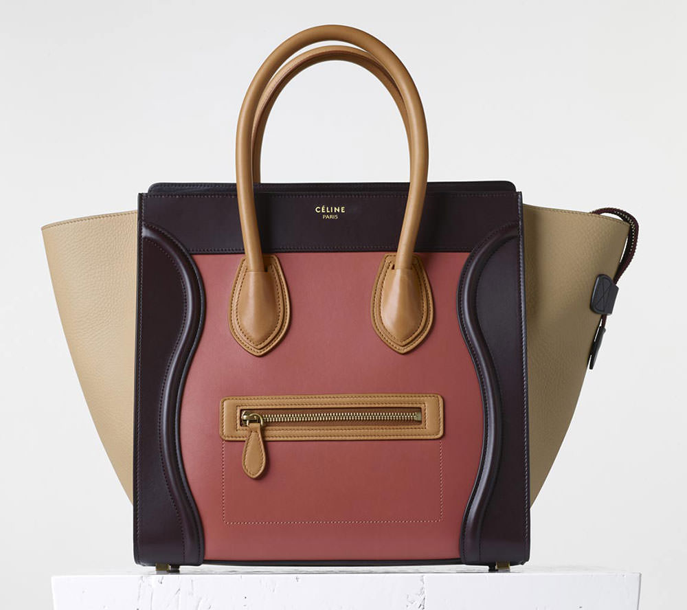 Celine-Mini-Luggage-Tote-Multicolor