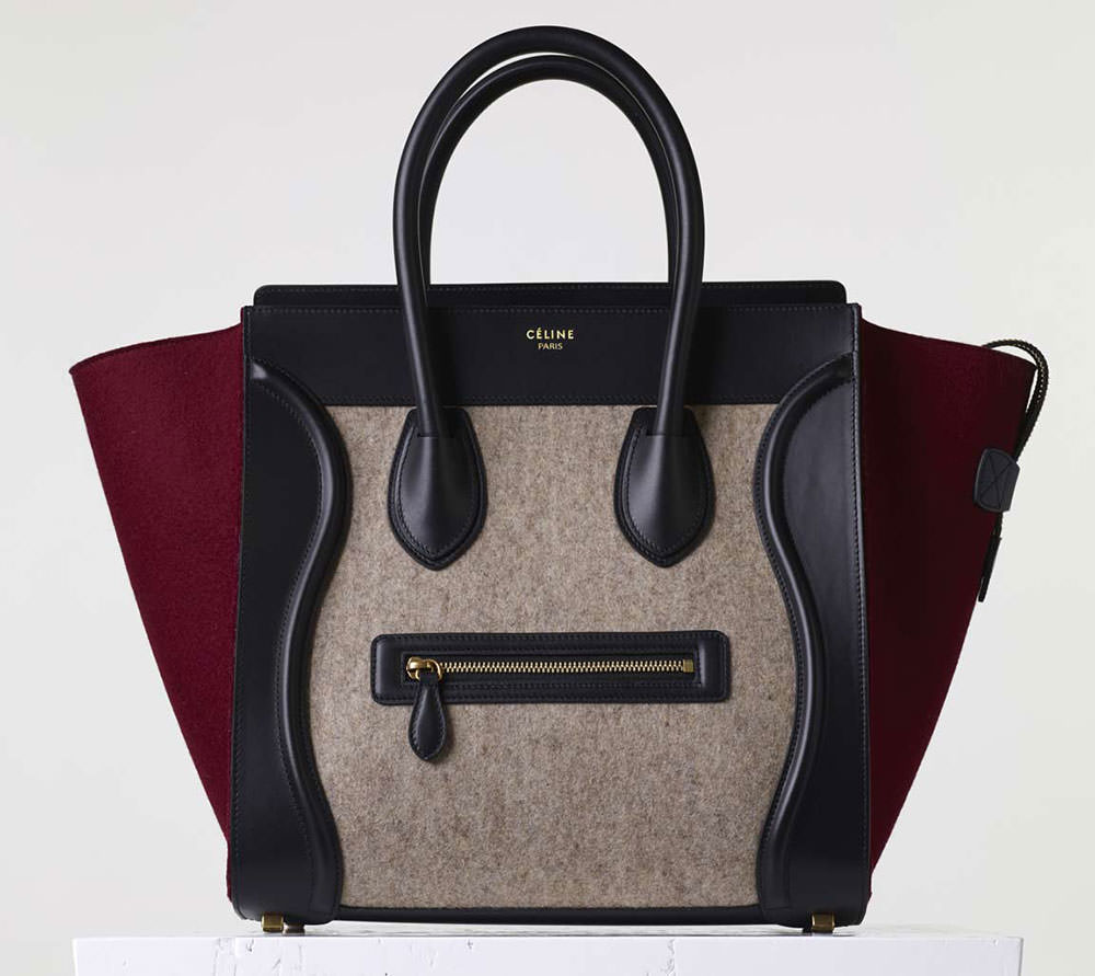 Celine-Mini-Luggage-Tote-Tricolor