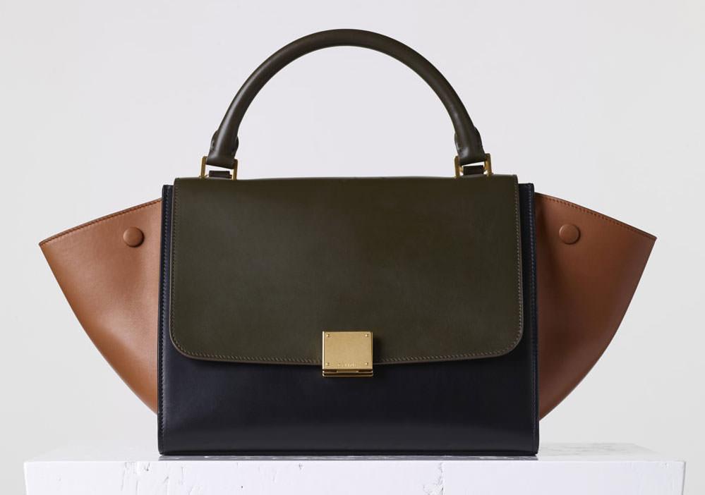 Celine-Tricolor-Small-Trapeze-bag