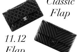 Bag Battles: The Chanel Classic Flap Bag vs. the Chanel 11.12 Flap Bag
