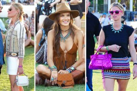 "Mentally Prepare Yourselves for a 100% ""Celebrities at Coachella"" Handbag Round-up"