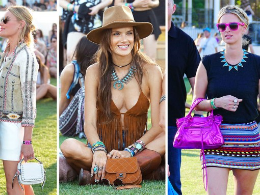 """Mentally Prepare Yourselves for a 100% """"Celebrities at Coachella"""" Handbag Round-up"""