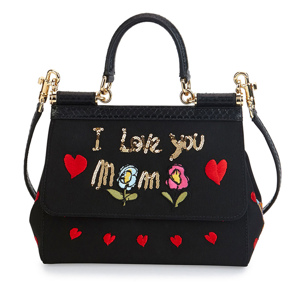 b197d84bd90a Dolce- -Gabbana-Miss-Sicily-I-Love-You-Mama-Bag - PurseBlog