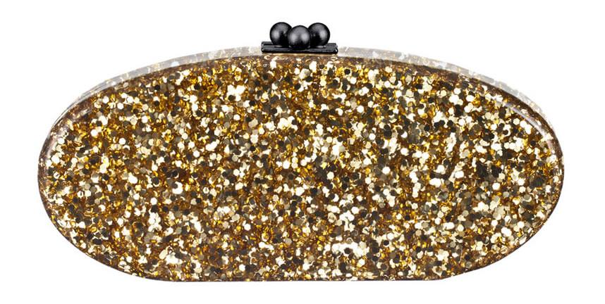 Edie Parker Edie Confetti Acrylic Clutch Bag
