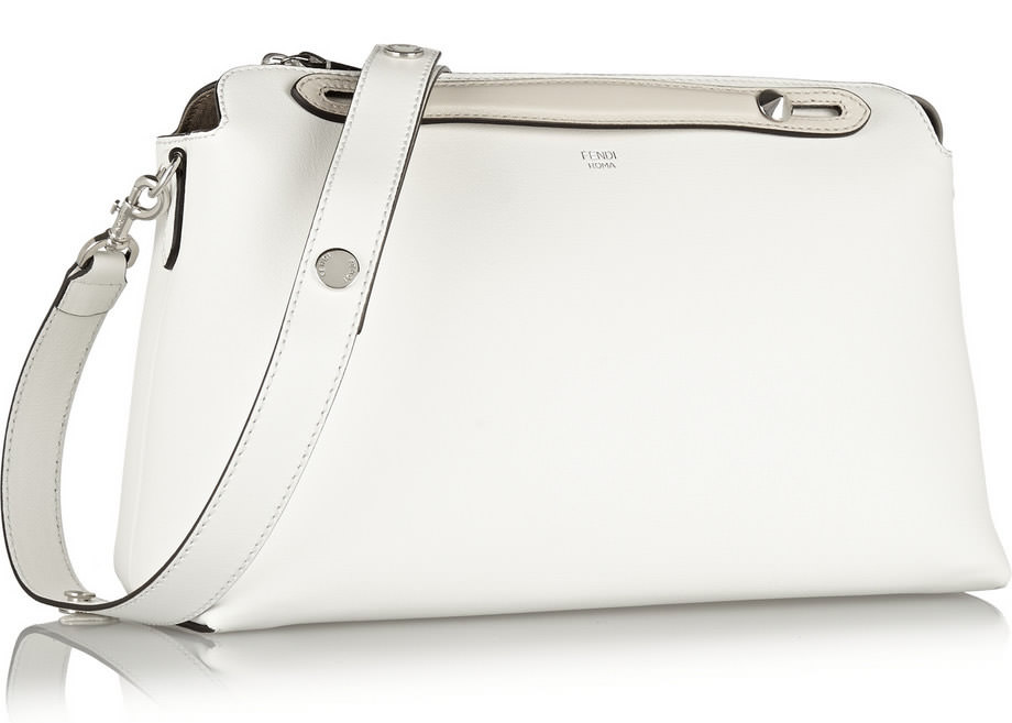 Fendi By The Way Shoulder Bag White