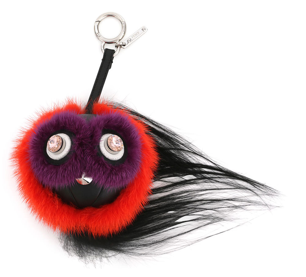Fendi-Monster-Fur-Keychain
