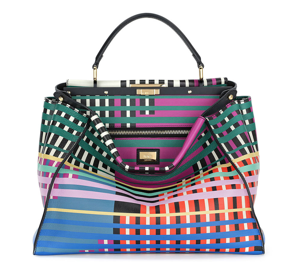 712754c00d Fendi Debuts More Brightly Colored Monster Bags for Pre-Fall 2015 ...