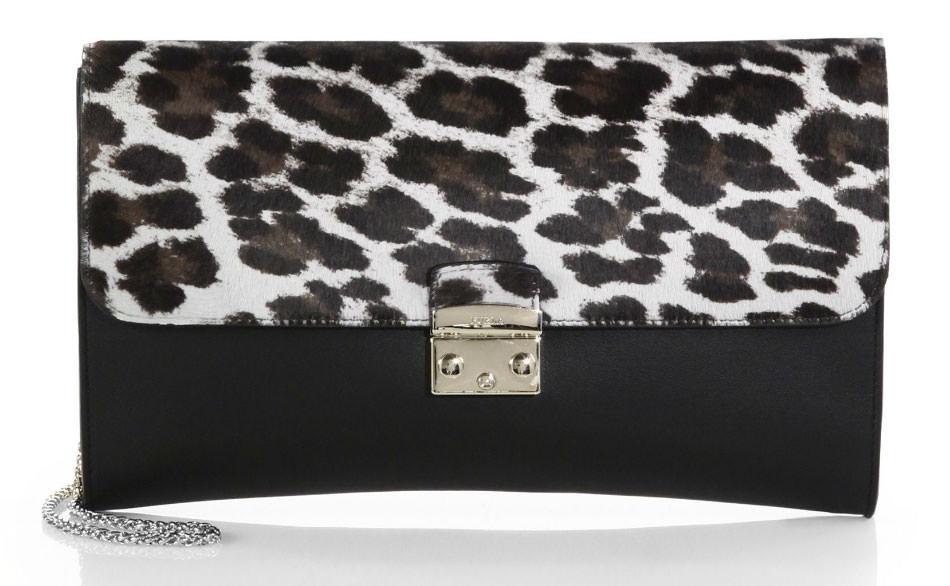 Furla-Elektra-Leopard-and-Calf-Clutch