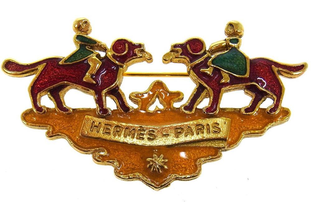 Hermes-Vintage-Brooch