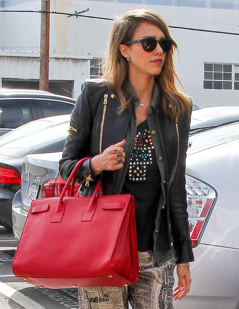 33 Stars Who Love Their Saint Laurent Sac de Jour Bags - PurseBlog