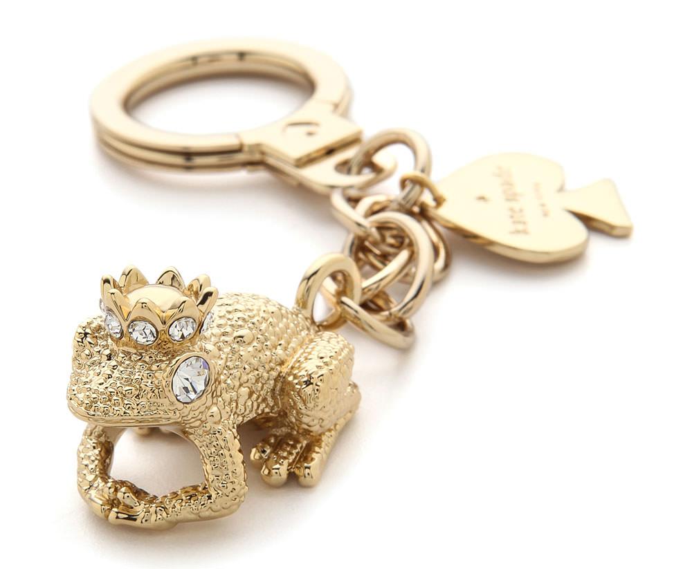 Kate-Spade-Kiss-a-Prince-Frog-Key-Chain