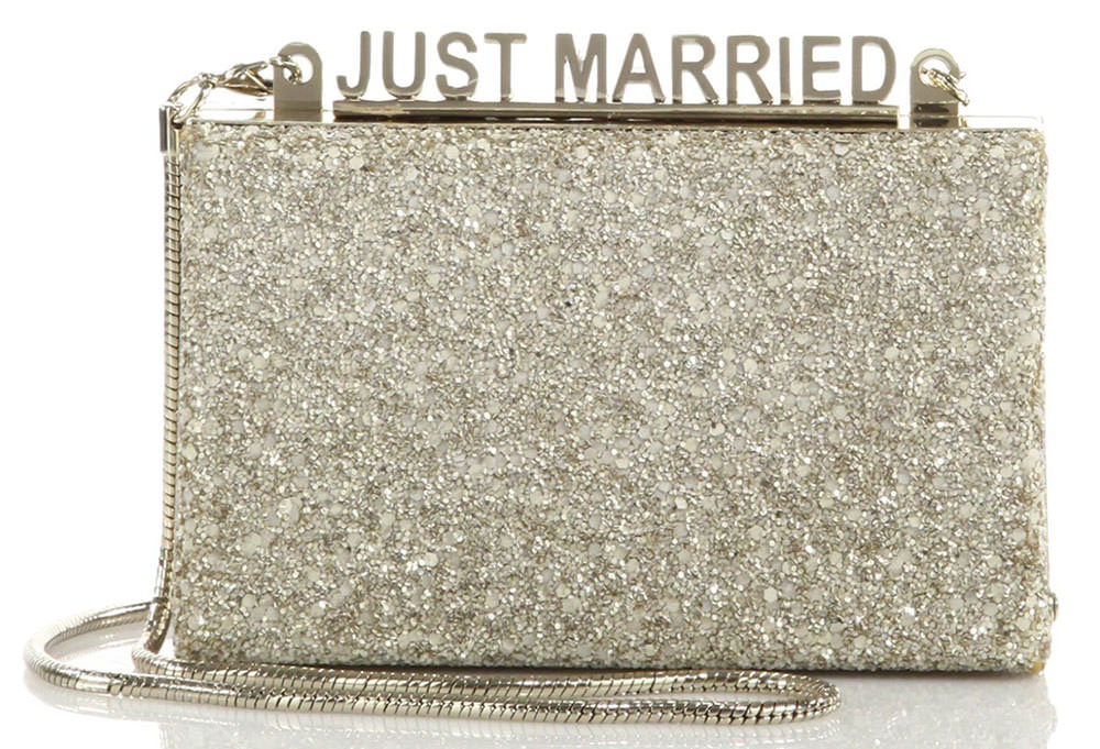 Kate-Spade-Wedding-Belles-Glitter-Just-Married-Clutch