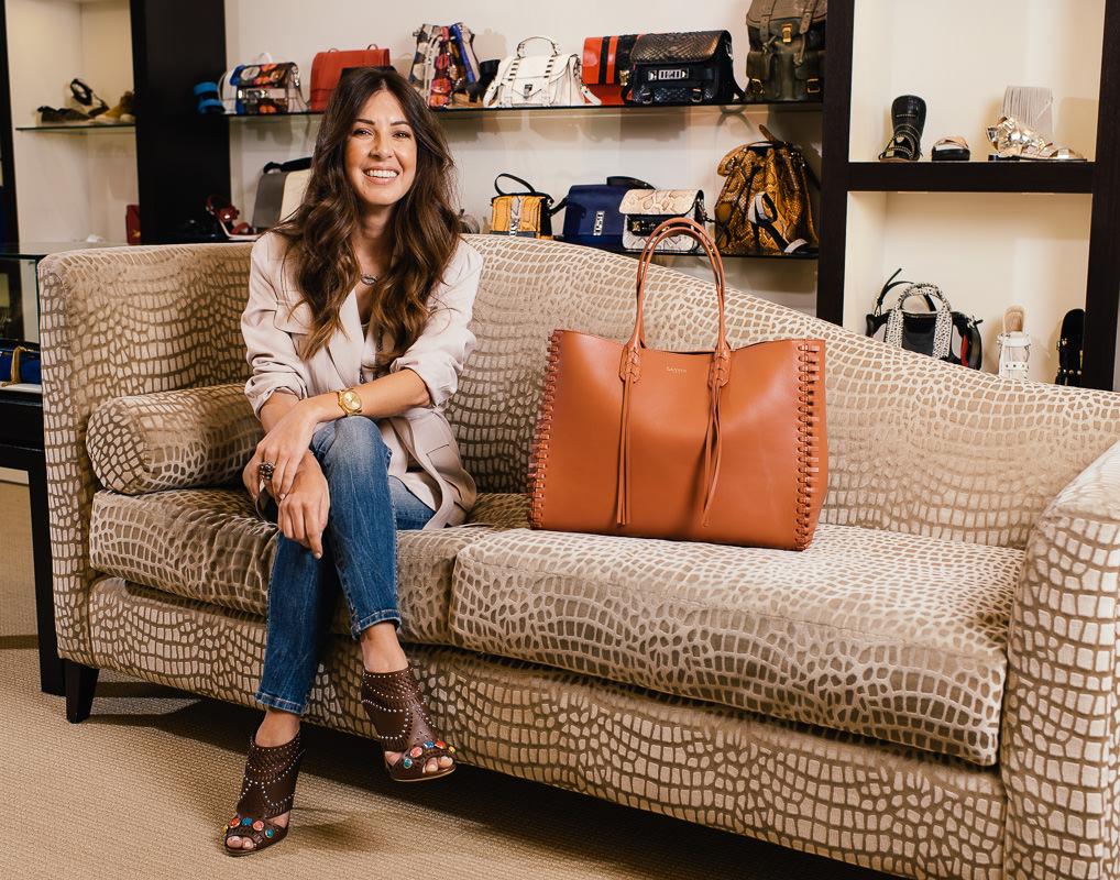 Lanvin bag, via Neiman Marcus. Gucci shoes, via Gucci.com. Intermix brand jacket, similar styles via Intermix. Zara jeans. Hayley Style Necklace.