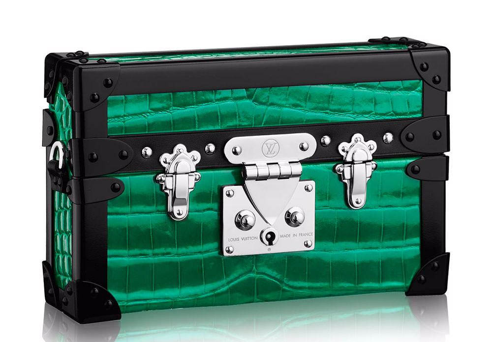 Louis-Vuitton-Petite-Malle-Shiny-Crocodilian-Clutch
