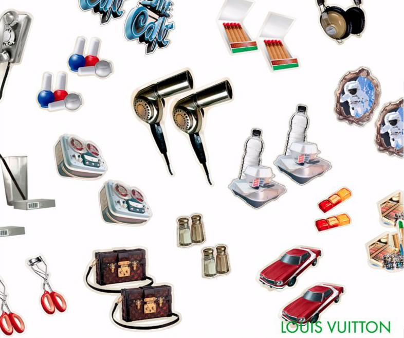 Louis Vuitton Sticker Collection