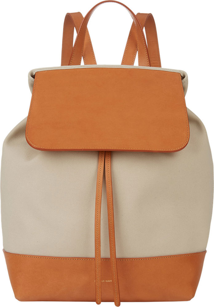 Mansur-Gavriel-Canvas-Backpack