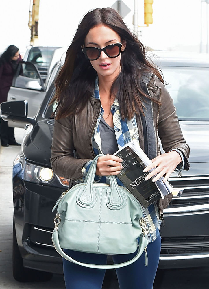 Megan-Fox-Givenchy-Mini-Nightingale-bag