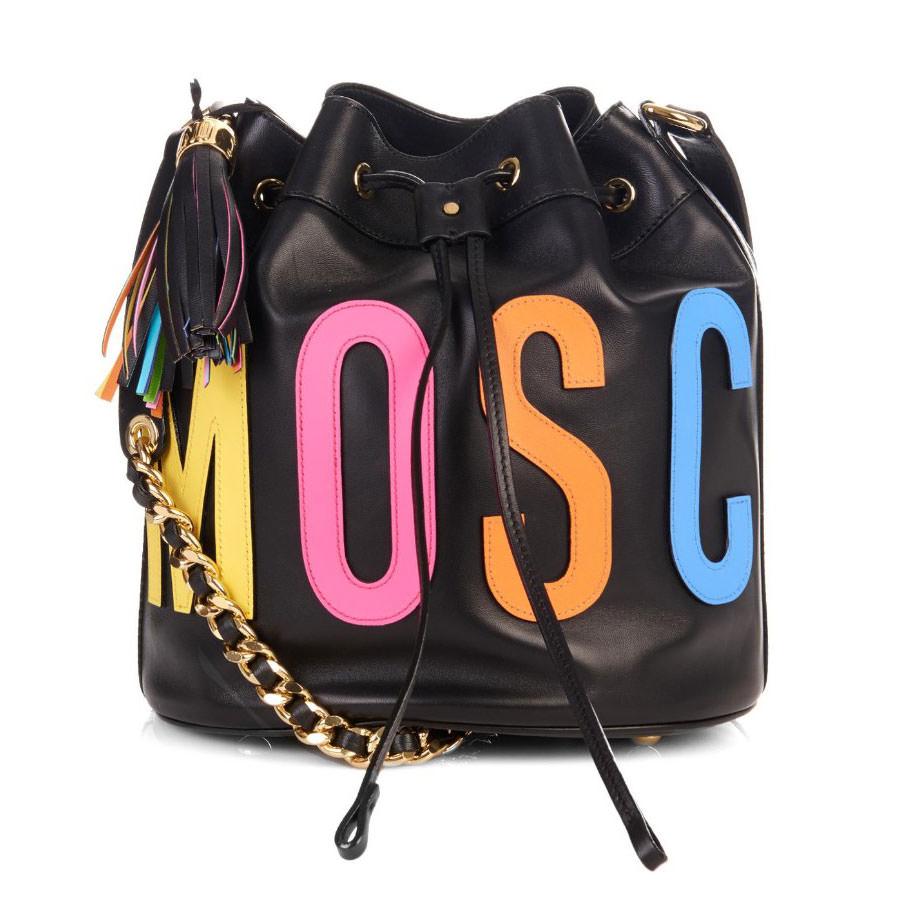 Moschino-Logo-Applique-Bucket-Bag