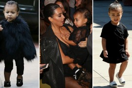 The Many Shoes of North West