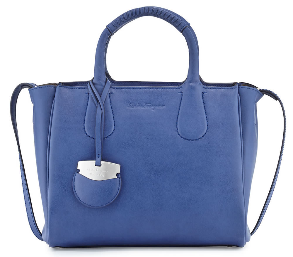 Salvatore Ferragamo Nolita Small Leather Tote Bag